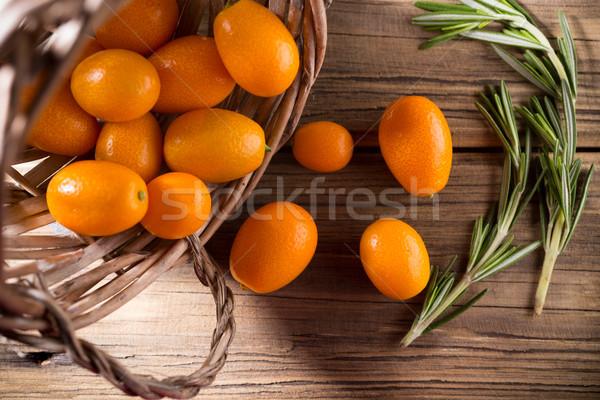 Frutti di bosco legno agrumi ingrediente alimentare cross Foto d'archivio © gitusik