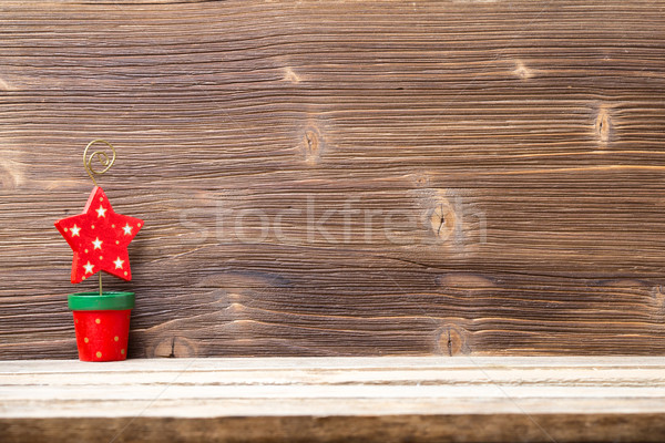 Stockfoto: Christmas · achtergronden · houten · hout · abstract