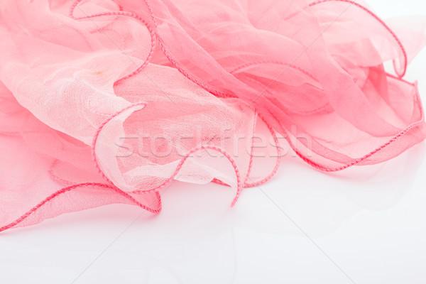 Pink silk scarf. Stock photo © gitusik