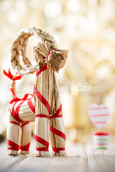 Christmas decor. Stock photo © gitusik