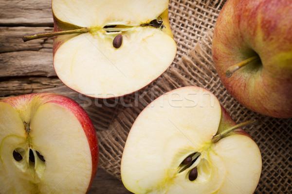 Măr alimente fruct vară grup Imagine de stoc © gitusik