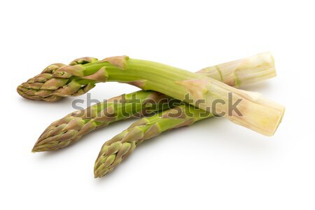 Эко спаржа белый свежие овощи здоровья зеленый Сток-фото © gitusik