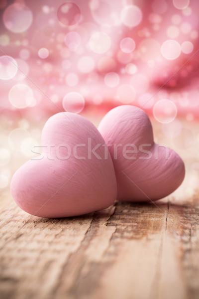 Hearts. Stock photo © gitusik