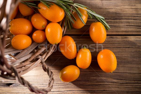 Kumquat. Stock photo © gitusik