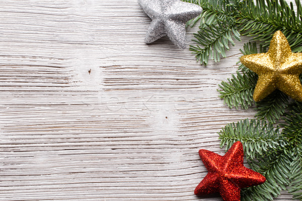 Navidad fondos decoración árbol cuadro Foto stock © gitusik