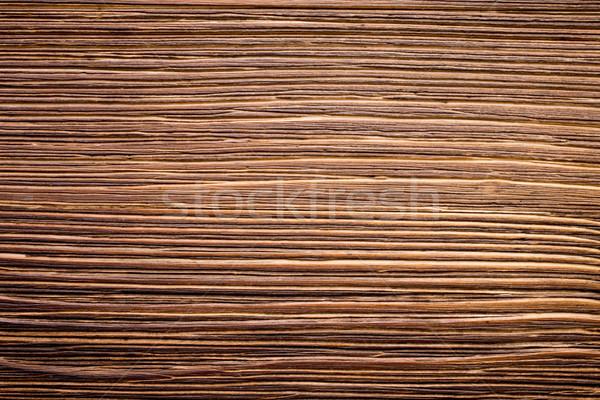 Holz Holz Plaque Inschrift willkommen Tabelle Stock foto © gitusik