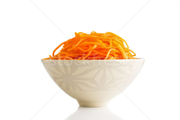 Korean carrot. Stock photo © gitusik
