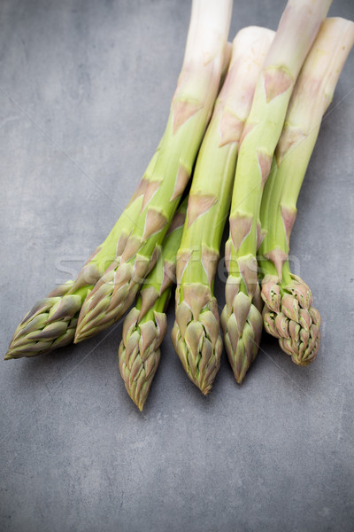Eco asparagi bianco verdure fresche salute verde Foto d'archivio © gitusik