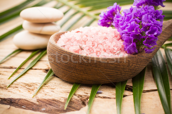 Aromaterapi spa vücut Stok fotoğraf © gitusik