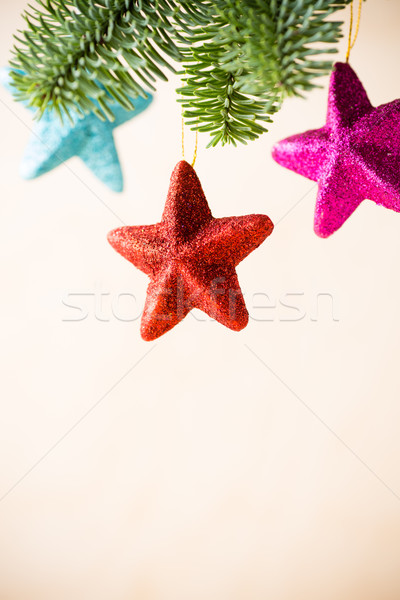 Christmas decor. Stock photo © gitusik