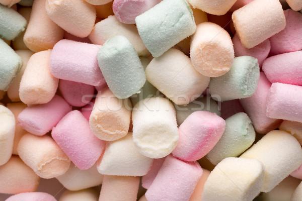 Guimauve faible bonbons grasse Photo stock © gitusik