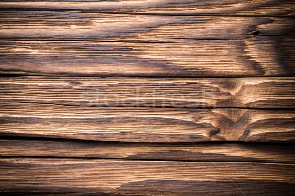 Hout oude houten Maakt een reservekopie studio fotografie Stockfoto © gitusik