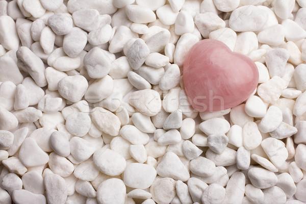 Сток-фото: закрывается · кварцевый · сердце · любви · природы