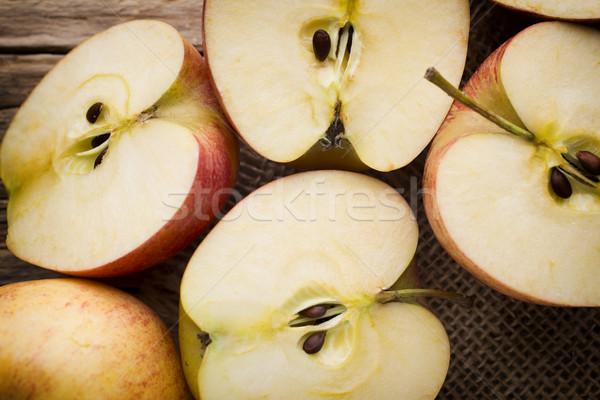 Maçã comida fruto verão grupo Foto stock © gitusik