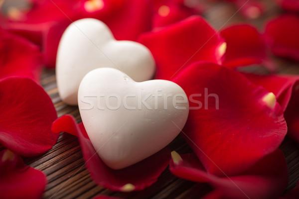 Rose petals. Stock photo © gitusik