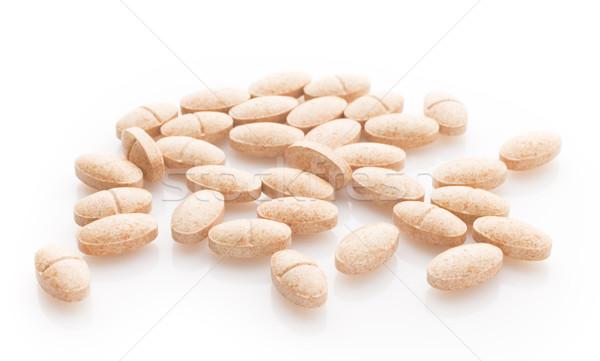 Herbal pill. Stock photo © gitusik