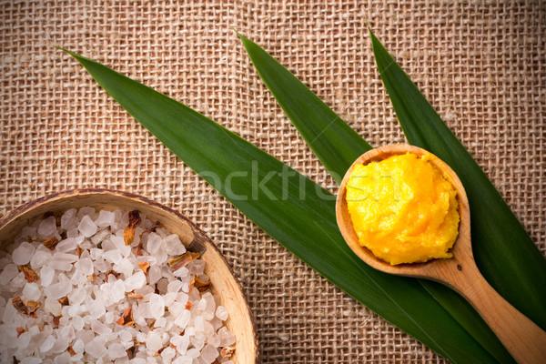 Spa манго тело масло Сток-фото © gitusik