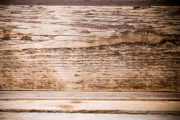 Holz alten rustikal holz tabelle stock foto - Holz hartegrade tabelle ...