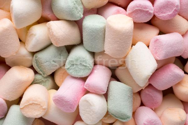 マシュマロ 小 キャンディ 脂肪 ストックフォト © gitusik