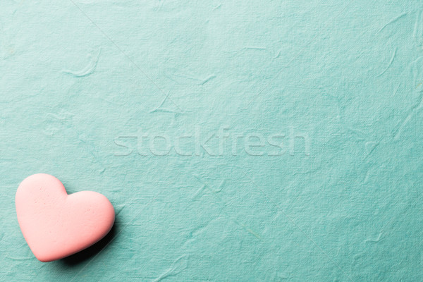 Corazón rosa dulces papel pared diseno Foto stock © gitusik