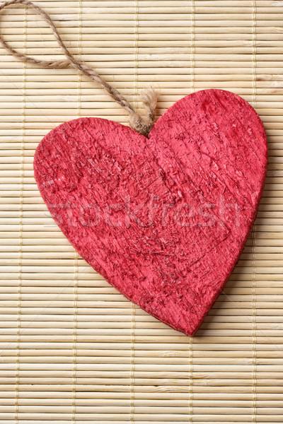 Stock photo: Valentine card.