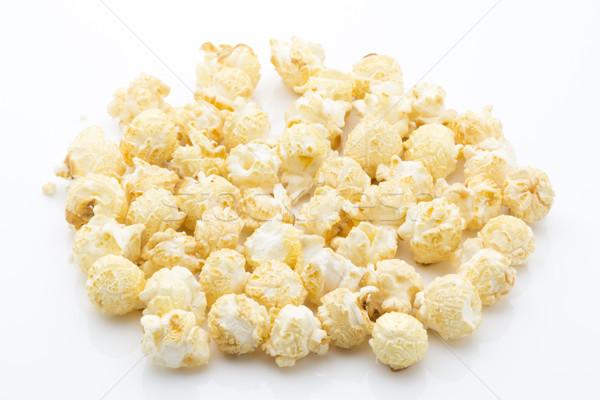 попкорн изолированный белый продовольствие студию объект Сток-фото © gitusik