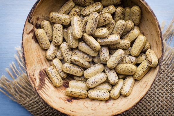 Pill. Stock photo © gitusik