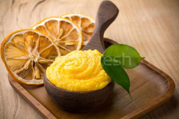 Mango body butter. Stock photo © gitusik