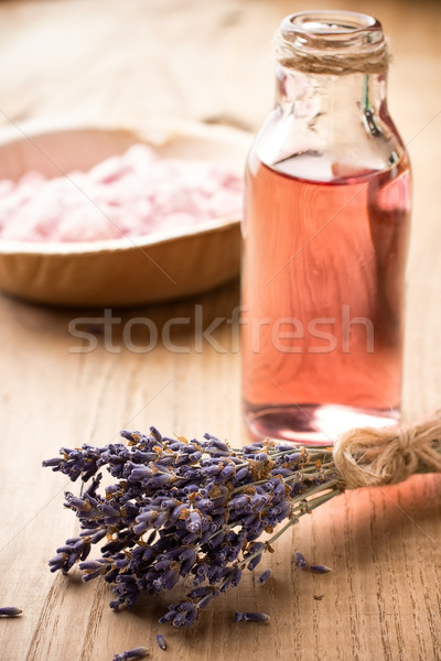 Aromaterapia corpo olio spa natura Foto d'archivio © gitusik