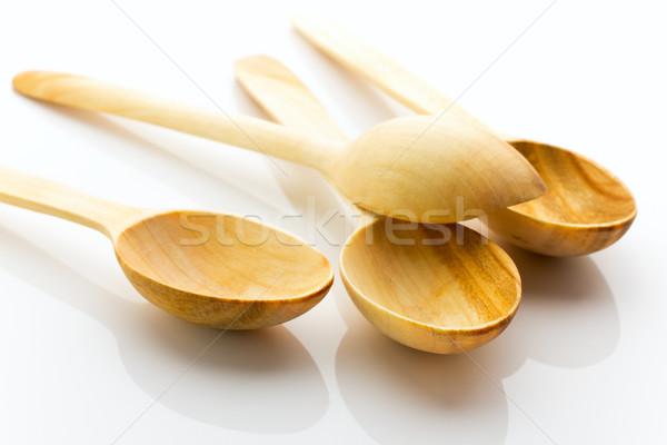 Wooden spoon. Stock photo © gitusik