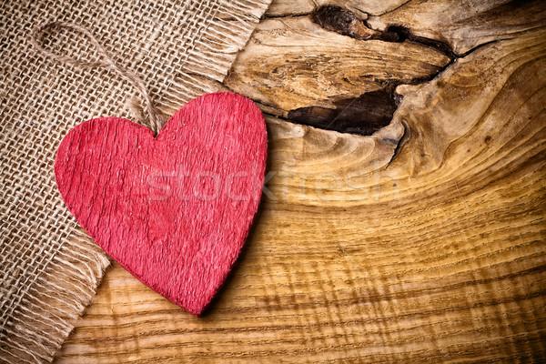 Valentine card. Stock photo © gitusik