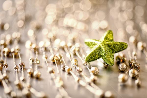 Złoty świetle star przestrzeni złota światła Zdjęcia stock © gitusik