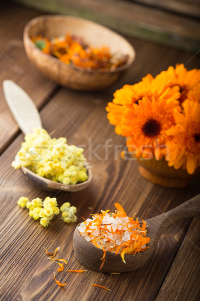 Calendula homeopathic. Stock photo © gitusik