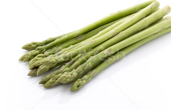Asparagus isolated on the white background. Stock photo © gitusik
