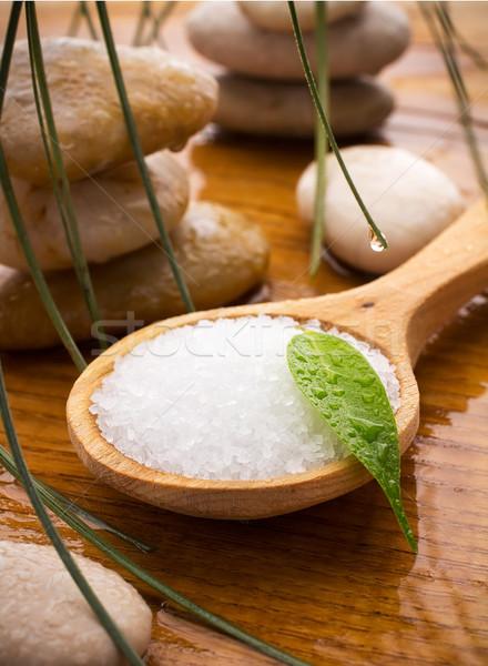 Sea salt. Stock photo © gitusik