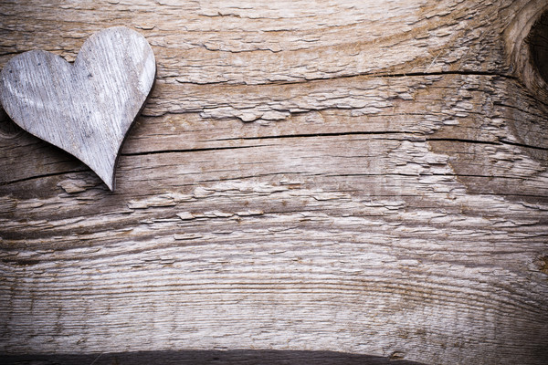 Heart. Greeting card. Stock photo © gitusik