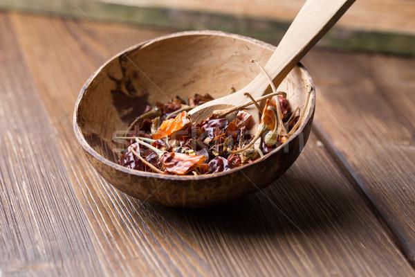 Stock photo: Spice mix.