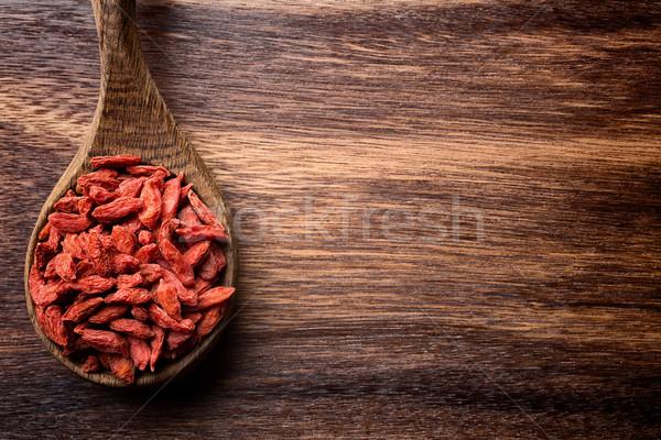 Goji berry. Stock photo © gitusik