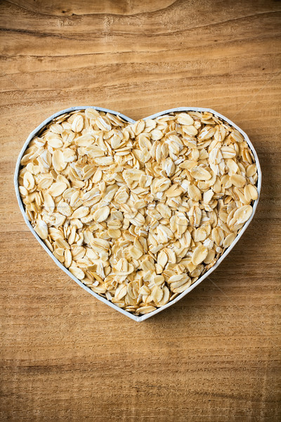 Oatmeal. Stock photo © gitusik