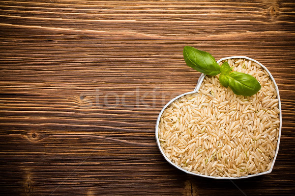 Rice. Stock photo © gitusik