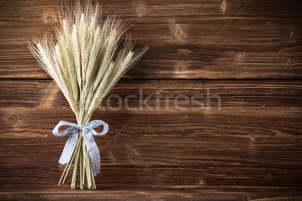 Centeno azul cinta alimentos Foto stock © gitusik