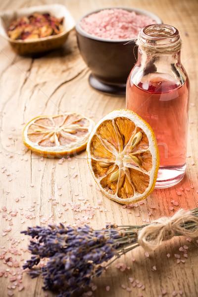 Foto stock: Aromaterapia · cuerpo · petróleo · spa · naturaleza
