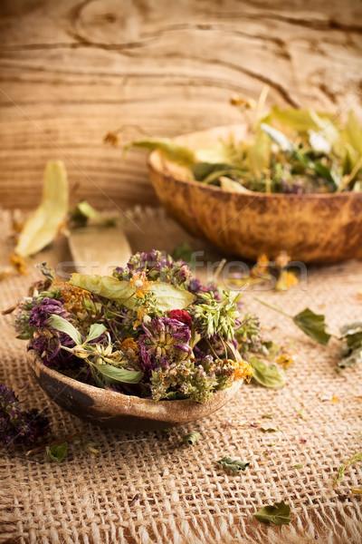 Herbal tea. Stock photo © gitusik
