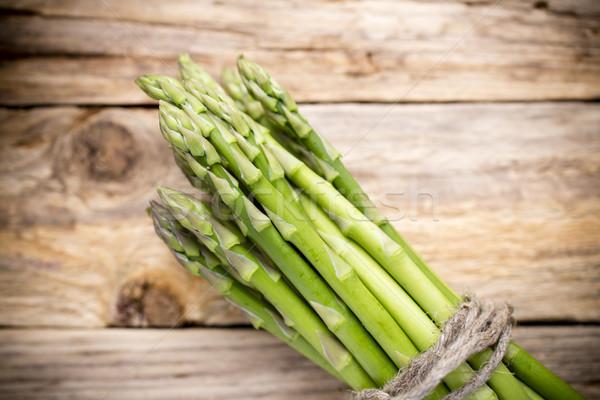 Espargos comida legumes alimentação branco Foto stock © gitusik