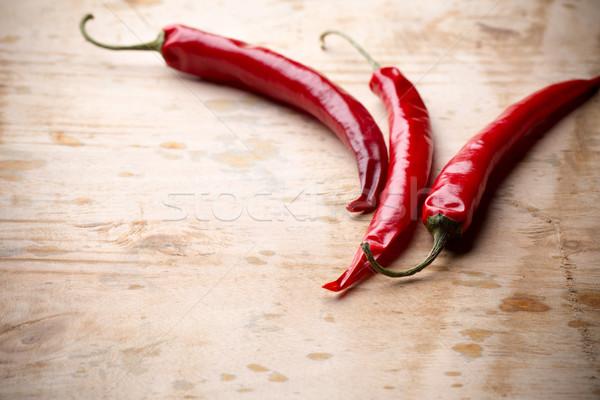 Chili pepper. Stock photo © gitusik