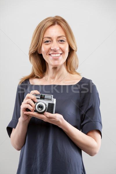 женщину страстный фотограф портрет реальный готовый Сток-фото © Giulio_Fornasar