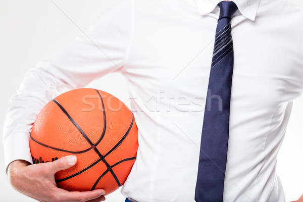now it's up to you with this ball Stock photo © Giulio_Fornasar