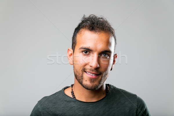 real people is better: portrait of a young man Stock photo © Giulio_Fornasar