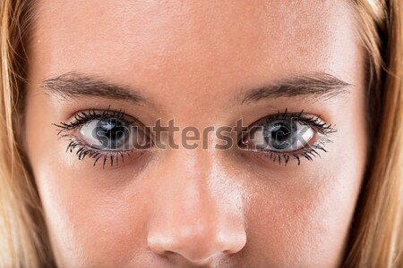 teen ager wonderful eyes close up Stock photo © Giulio_Fornasar