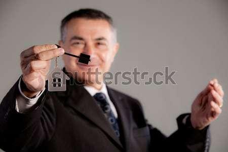 Ingatlan mindenki fiatal öreg idős férfi ki Stock fotó © Giulio_Fornasar